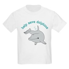 Help Save Dolphins T-Shirt