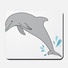 Jumping Dolphin Mousepad