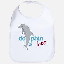 Dolphin Love Bib