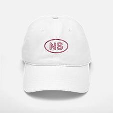 NS Pink Baseball Baseball Cap