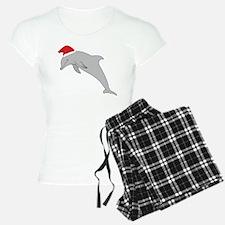 Santa Dolphin Pajamas