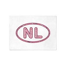 NL Pink 5'x7'Area Rug