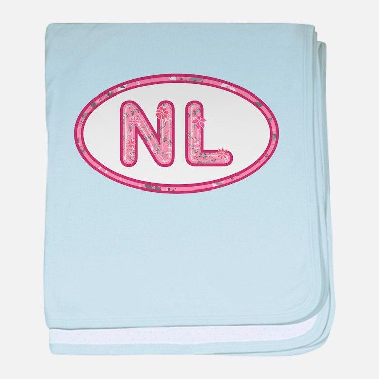 NL Pink baby blanket