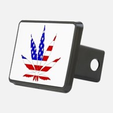 American Pot Leaf Hitch Cover