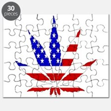 American Pot Leaf Puzzle