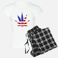 American Pot Leaf Pajamas