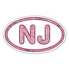 NJ Pink Decal