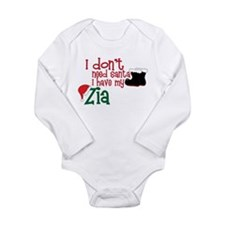 I Have My Zia Long Sleeve Infant Bodysuit