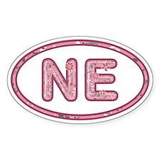 NE Pink Decal