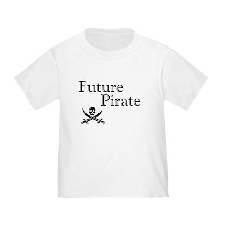 Future Pirate Toddler T-Shirt
