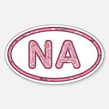 NA Pink Decal