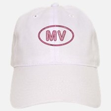 MV Pink Baseball Baseball Cap