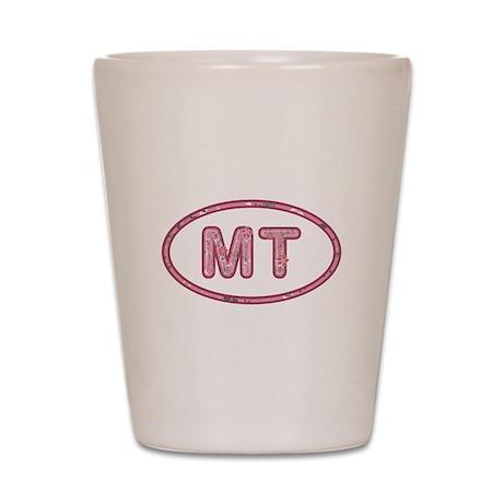 MT Pink Shot Glass