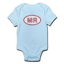 MR Pink Infant Bodysuit