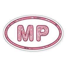 MP Pink Decal