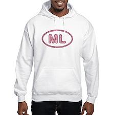 ML Pink Hoodie