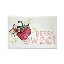Berry Sweet Rectangle Magnet