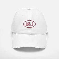 MJ Pink Baseball Baseball Cap