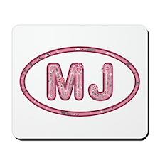 MJ Pink Mousepad