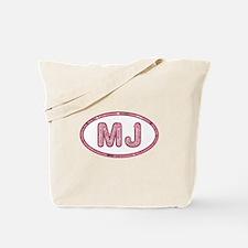 MJ Pink Tote Bag