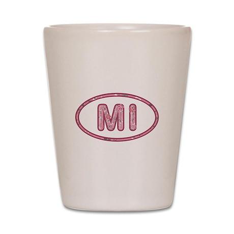 MI Pink Shot Glass