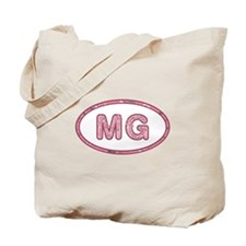 MG Pink Tote Bag