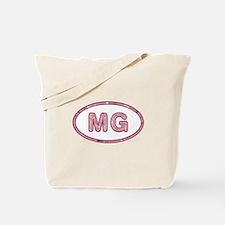 MG Pink Tote Bag