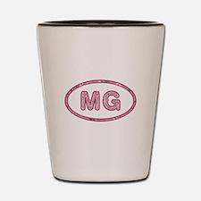 MG Pink Shot Glass