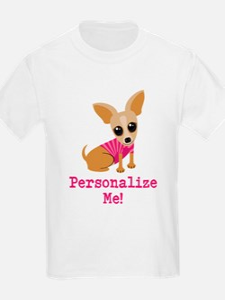Custom Pink Chihuahua T-Shirt