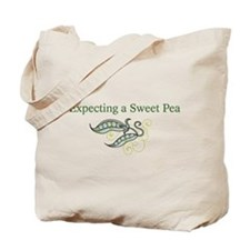 Expecting a Sweet Pea Tote Bag