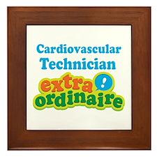 Cardiovascular Technician Extraordinaire Framed Ti