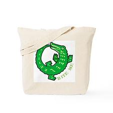 Alligator Bite Me Tote Bag
