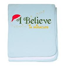 Believe In Miracles baby blanket