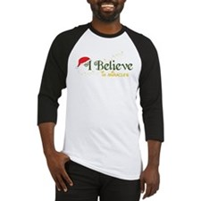 Believe In Miracles Baseball Jersey