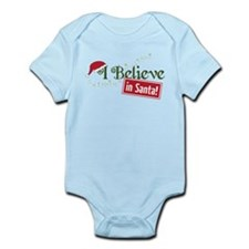 Believe In Santa Infant Bodysuit