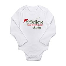 I Was Good Long Sleeve Infant Bodysuit