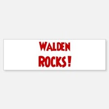 Walden Rocks Bumper Bumper Bumper Sticker