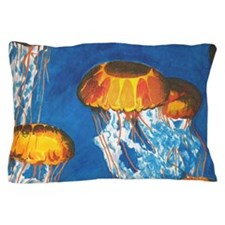 Jellyfish Pillow Case