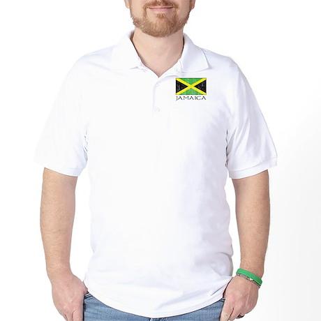 Jamaica Flag Golf Shirt