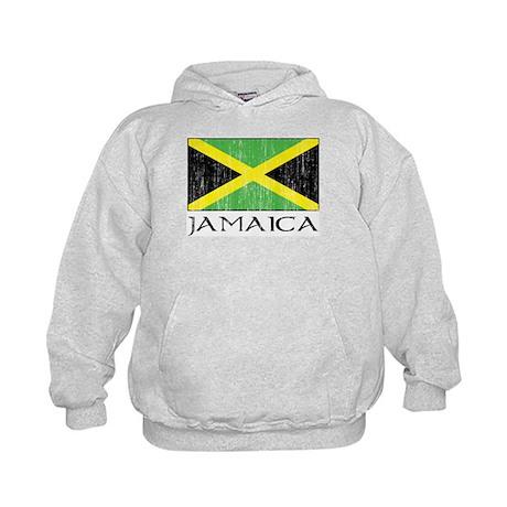 Jamaica Flag Kids Hoodie