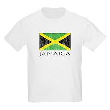 Jamaica Flag Kids T-Shirt