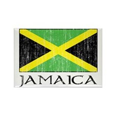 Jamaica Flag Rectangle Magnet