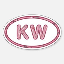 KW Pink Decal