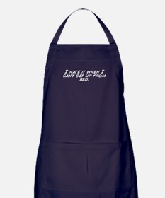 Cute Can%27t get up Apron (dark)