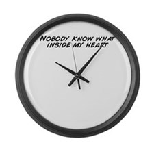 Funny My inside Large Wall Clock