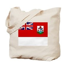 Bermuda Flag Picture Tote Bag