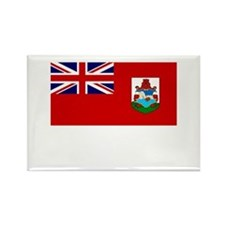 Bermuda Flag Picture Rectangle Magnet