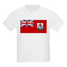 Bermuda Flag Picture Kids T-Shirt