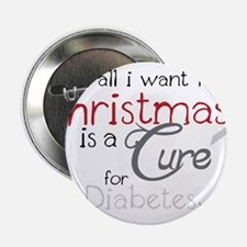 "Cure For Diabetes 2.25"" Button"