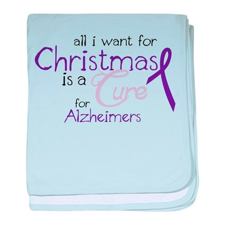 Cure For Alzheimers baby blanket